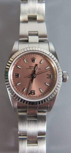 Rolex Ladies Oyster Wrist watch Est £1500-£1800 to be auctioned 15/6/16