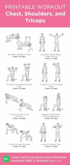 Workout plans, Healthy and effective exercise images. For other terrific yet hel… Workout plans, Healthy and effective exercise images. For other terrific yet helpful fitness workout step, check the example ref 4640512196 today. Fitness Workouts, Tricep Workout Gym, Chest And Tricep Workout, Back And Bicep Workout, Chest Workout Women, Gym Workout Plan For Women, Arm Day Workout, Back Exercises Gym, Arm Workouts Gym