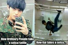 oh kai. you overachiever. you adorable overachiever. (hahahaha and tao, that leopard phone case? FIERCE. x''D)
