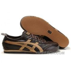 2d04c0474782 Onitsuka Tiger Mexico 66 Mens Lauta Brown Golden Authentic