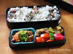 Bento Lunch Blog: Bentobox befüllen: Schritt für Schritt-Anleitung / Bento #152 Gebratene Avocado & Mock Chicken