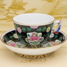 Herend chinoiserie  Xi'an black
