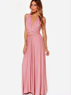 Sexy Plated Mauve Cocktail Jersey Maxi Dress crafted by soft comfortable fabric and suitable for most modern women to contour a sexy slender silhouette. It cou Mauve Dress, Pink Dress, Buy Dress, Dress Me Up, Wrap Dress, Bridesmaid Dresses, Prom Dresses, Formal Dresses, Bridesmaids