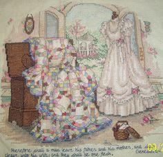Paula Vaughan Cross-Stitch  by Carol Goff-Reese