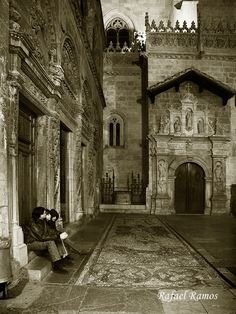 """Cathedral. Granada, Spain...someday I want to take my boys here and show them my other """"home""""."""