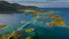 Bridge to the village of Fredvang on Moskenes Island in the Lofoten Islands, Norway (© Daniel Korzhonov/500px) - 2013-11-15