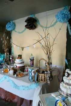 "Photo 5 of 16: Eli - The Little Hunter / Baby Shower/Sip & See ""Woodsy Baby Shower"" 