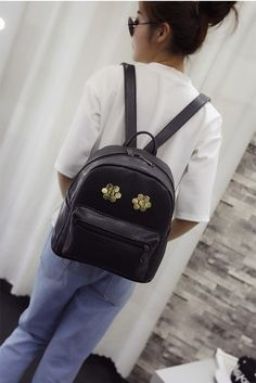 BA01801 Backpack Korean style personality fashion backpack