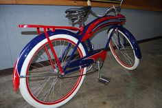 red white and blue bicycle - Google Search