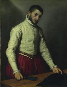 Giovan Battista Moroni - Il sarto - 1570 - The National Gallery Londra