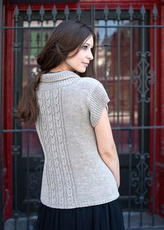 40005d7134ae8d Cable Knitting Pattern - Cabled Cardigan Pattern - Chic Knits Elisbeth  Cardi - Downloadable Knitting Patterns