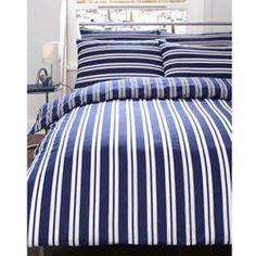 Cove Quillt Cover - Navy