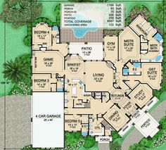 Grandeur with Central Rotunda - 36356TX   1st Floor Master Suite, Butler Walk-in Pantry, CAD Available, Corner Lot, Den-Office-Library-Study, Elevator, European, Luxury, MBR Sitting Area, Media-Game-Home Theater, PDF, Split Bedrooms, Traditional   Architectural Designs