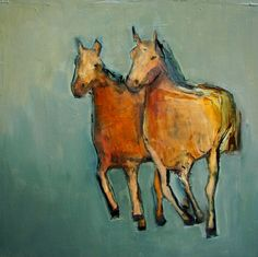 DIVINE EQUINE   8 x 8 Abstract Giclee print from my por artiparti