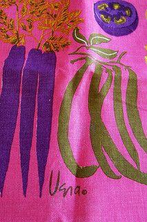 1971 Vera - Vegetables Tea Towel Calendar   by polishedtwo
