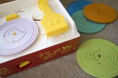 That way, my kids can play with their own records rather than mine.