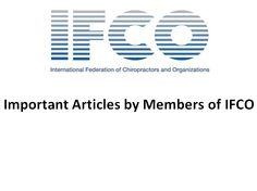 """Please read and """"repin"""" these Important Articles from IFCO members."""