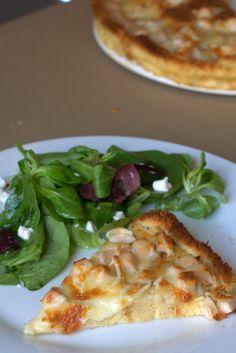 Cosas con Encanto: PASTEL DE YORK Y QUESO CON BASE DE PAN DE MOLDE Healthy Recepies, Queso, Quiches, Salads, Base, Cheese, Meat, Chicken, Cooking