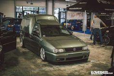 VW Caddy mk2 on Azev A wheels