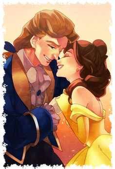 Beauty and the beast, Disney couple