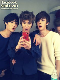 Kai, Sehun, and Taemin | EXO-K & SHINee ♥