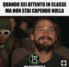 Funny Video Memes, Crazy Funny Memes, Funny Pins, Wtf Funny, Stupid Funny, Funny Jokes, Hmm Meme, Funny Chat, Italian Memes