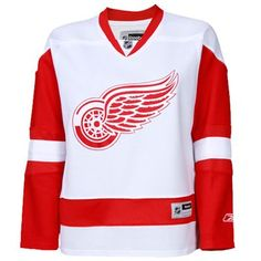 @Lacey Cook - mine, mine, mine!!! Red Wings Road Jersey.