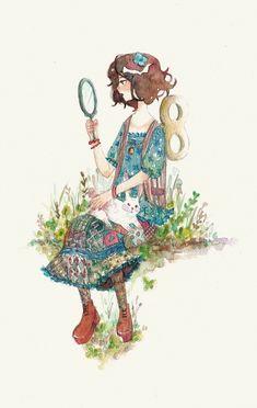 #mori, #morikei, #forestgirl   http://yuuta-apple.deviantart.com/art/Mori-girl-361272873