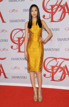 Vera Wang dress - CFDA Awards 2012