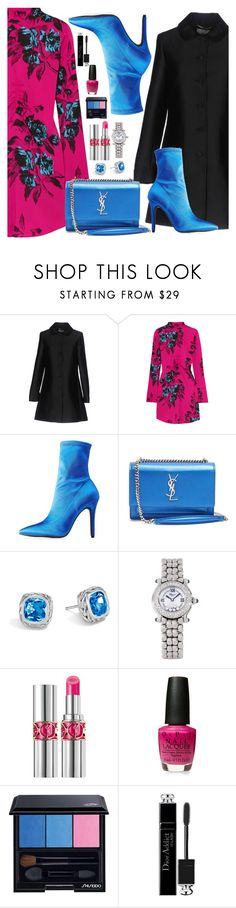 """Başlıksız #395"" by nezahat-kaya ❤ liked on Polyvore featuring Blugirl, McQ by Alexander McQueen, Qupid, Yves Saint Laurent, John Hardy, Chopard, David Jones, Christian Dior, Blue and dress"