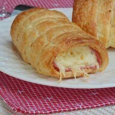 Roulés au jambon et fromage -Yumelise - recettes de cuisine