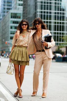 On the Street….Giovanna & Anastasia, NYC « The Sartorialist