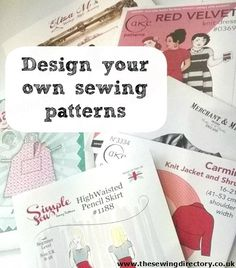 Design and print your own sewing patterns