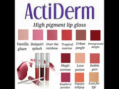 https://www.facebook.com/Love-ActiDerm-Beauty  https://acti-labs.com/me/sarah-jackson-2