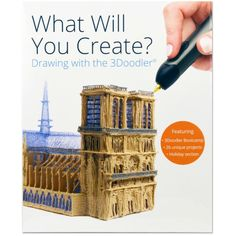 Compra nuestros productos a precios mini libro 3Doodler What will you create - Entrega rápida, gratuita a partir de 89 € !