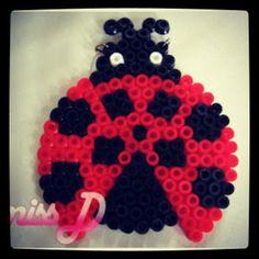 Ladybug perler beads by pelangi_beadsshop (bad link)