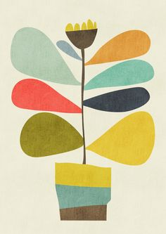 Poster | POTTED PLANT von Budi Kwan | more posters at http://moreposter.de