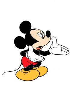 Disney Mickey Mouse talking