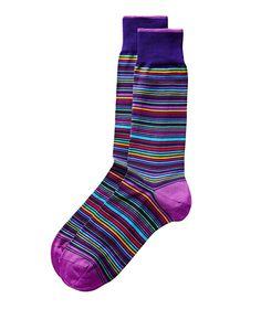 Bugatchi   Striped Dress Socks   Socks   Harry Rosen
