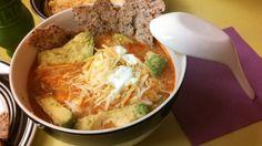One Pot Chicken Tortilla Soup - neverthesamedish.com