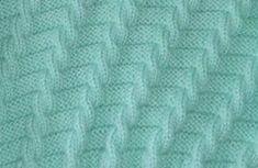Receita de Tricô: Ponto de trico facil e lindo