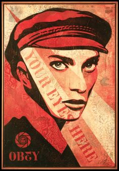 Shepard Fairey / Obey - Your Eyes Here