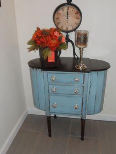 Up cycled Vintage Martha Washington Sewing Cabinet by Shopamemory