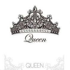 queen crown Swarovski crystal Tattoo stickers for youth Couple Tattoos, Love Tattoos, Beautiful Tattoos, New Tattoos, Body Art Tattoos, Tatoos, Crown Tattoos For Women, Queen Crown Tattoo, Tattoo Ideas