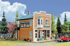 Walthers Cornerstone HO 933-3653 Smith's General Store Kit