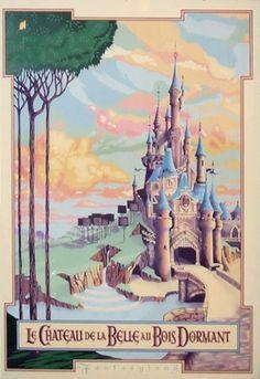 Sleeping Beauty's Castle in Disneyland Paris :)