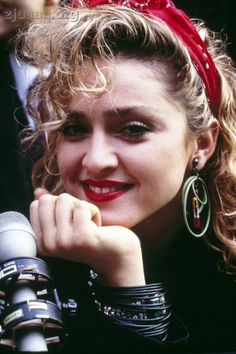 ... madonna 80s hair and makeup