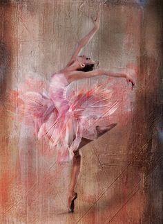 Digital art by Cathrine Blan - Ego - AlterEgo Ballerina Painting, Ballerina Art, Ballet Art, Art Of Noise, Dance Paintings, Ballet Photography, Arte Pop, Beautiful Paintings, Figurative Art