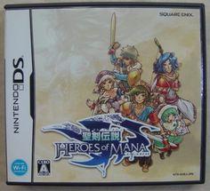 Nintendo DS Japanese :  Seiken Densetsu: Heroes of Mana NTR-AHEJ-JPN http://www.japanstuff.biz/ CLICK THE FOLLOWING LINK TO BUY IT http://www.delcampe.net/page/item/id,0367683282,language,E.html