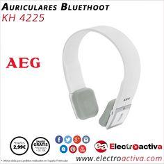 ¡Diseño y alta calidad! Auriculares estéreo AEG http://www.electroactiva.com/aeg-auriculares-bluetooth-kh4225-blanco.html #Elmejorprecio #Auriculares #Electronica #PymesUnidas